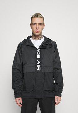 Nike Sportswear - AIR  - Regenjas - black/dark smoke grey/white