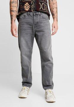 Carhartt WIP - NEWEL PANT MAITLAND - Jean boyfriend - black worn washed