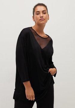 Violeta by Mango - ARACHEL - T-shirt à manches longues - schwarz