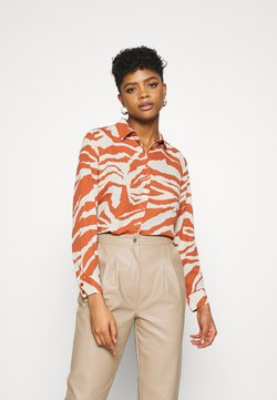 Monki - ASSA BLOUSE - Koszula - orange