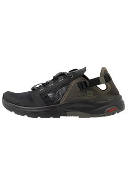 Salomon - TECH AMPHIB 4 - Hikingschuh - black/beluga/castor gray