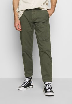 Junk De Luxe - ELASTICATED WASHED PANTS - Chinot - army
