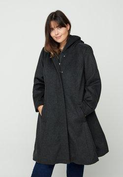 Zizzi - Wollmantel/klassischer Mantel - black