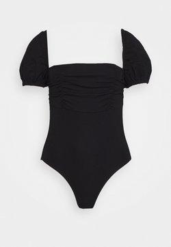 Fashion Union Petite - DEIDRE BODYSUIT - T-shirt print - black