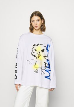 Weekday - CHEMI - Pitkähihainen paita - white