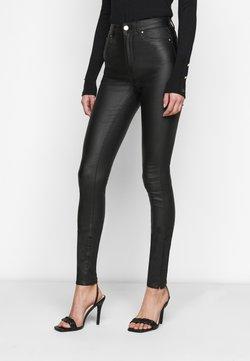 ONLY Tall - ONLOPTION SUPER COAT  - Jeans Skinny Fit - black