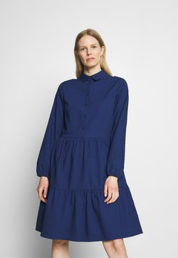 Marc O'Polo DENIM - DRESS BUTTON PLACKET - Freizeitkleid - scandinavian blue
