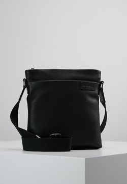 Strellson - GARRET SHOULDERBAG - Umhängetasche - black