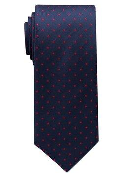 Eterna - Krawatte - dunkelblau/rot