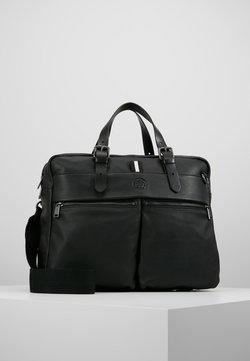 Marc O'Polo - BUSINESS BAG - Aktówka - black