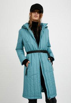 Finn Flare - Wintermantel - dark turquois