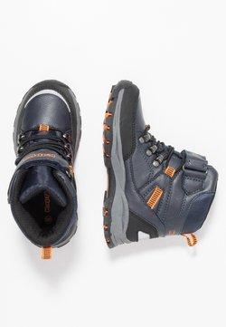 Kappa - SKUBB TEX - Obuwie hikingowe - navy/orange