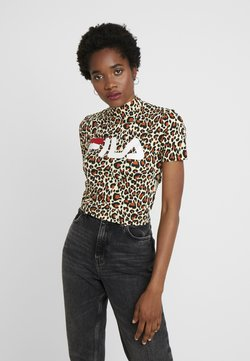 Fila - EVERY - T-Shirt print - brown
