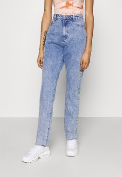Missguided - LONGER LENGTH RAW HEM WRATH - Straight leg -farkut - blue