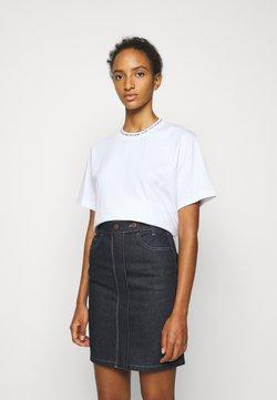 Victoria Victoria Beckham - LOGO - T-Shirt print - white