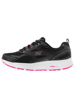 Skechers Performance - GO RUN CONSISTENT - Zapatillas de running neutras - black/pink