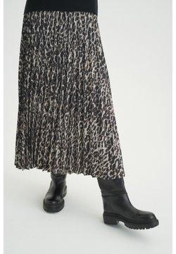 InWear - A-Linien-Rock - ash grey wild leo