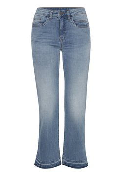 Fransa - FRIVZOZA  - Straight leg jeans - cool blue denim