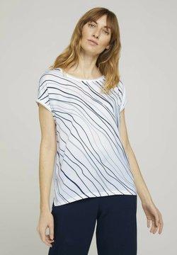 TOM TAILOR - T-shirt con stampa - whisper white