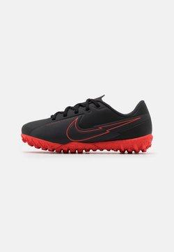 Nike Performance - MERCURIAL JR VAPOR 13 ACADEMY TF UNISEX - Fotballsko for kunstgress - black/dark smoke grey
