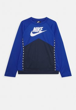 Nike Sportswear - CREW - Longsleeve - midnight navy/game royal/white