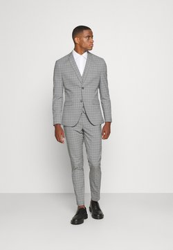 Isaac Dewhirst - THE FASHION SUIT PIECE CHECK - Puku - grey