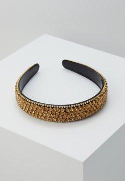 Vero Moda - VMCRYSTAL HAIRBAND - Haar-Styling-Accessoires - gold-coloured