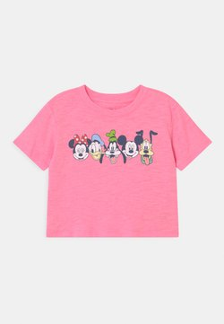 GAP - GIRL MICKEY & FRIENDS - Camiseta estampada - neon impulsive pink