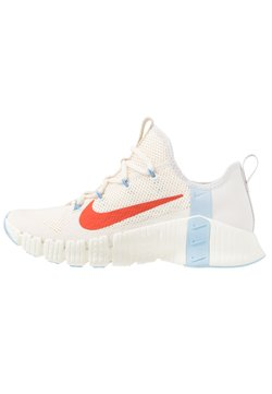 Nike Performance - FREE METCON  - Trainings-/Fitnessschuh - pale ivory/team orange/vast grey/psychic blue/sail