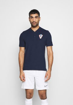 Nike Performance - KROATIEN CRO MODERN  - T-shirt print - obsidian/black