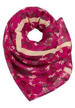 Esprit - MIT BLUMEN-PRINT - Écharpe - dark pink