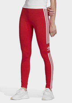 adidas Originals - TREFOIL LEGGINGS - Leggings - red
