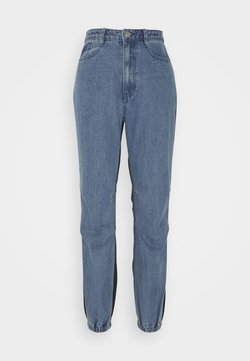 Missguided - BACKED JOGGER JEAN - Jeans Relaxed Fit - blue