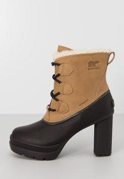 Sorel - DACIE - Plateaustiefelette - light brown
