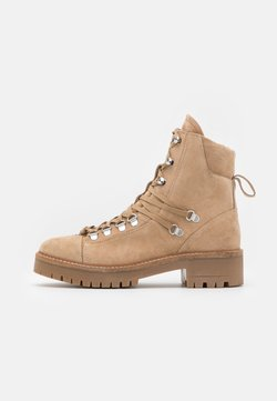 YAS - YASSNOWY HIKING BOOTS - Veterboots - creme