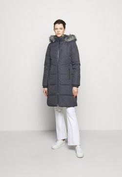 Lauren Ralph Lauren - HAND COAT HOOD - Untuvatakki - slate grey