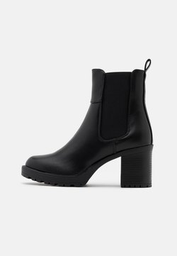 ONLY SHOES - ONLBARBARA CHELSEA BOOTIE  - Plateaustiefelette - black