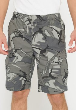 Superdry - SUPERDRY WORLDWIDE CARGO SHORTS - Shorts - outline camo
