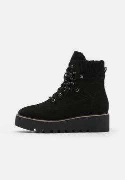Tamaris - BOOTS - Kiilakorkonilkkurit - black