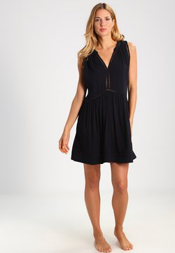 Seafolly - BEACH BASICS LADDER DETAIL DRESS - Accessoire de plage - black