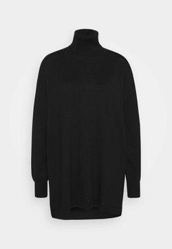 Gestuz - THELMA ROLLNECK - Vestido de punto - black