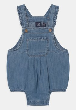 GAP - BUBBLE - Tuinbroek - blue denim