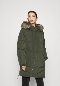ONLY - ONLROONA QUILTED COAT - Wintermantel - rosin