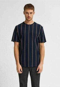Selected Homme - T-Shirt print - navy blazer