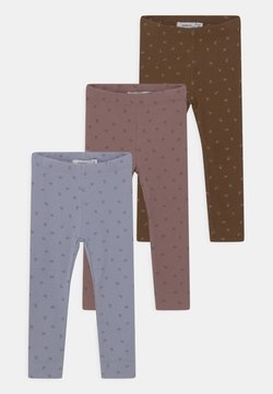 Name it - NBFDAISIA 3 PACK - Leggings - aleutian/desert palm