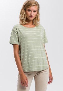 Cross Jeans - T-Shirt print - green seaweed