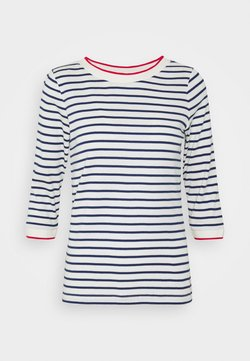 Esprit - STRIPED - Langarmshirt - off white