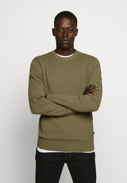 J.LINDEBERG - ANDY SEMI STRUCTURE - Sweter - covert green