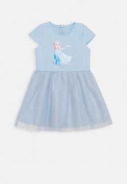 Name it - NMFFROZEN REBEC DRESS - Jerseykleid - blue