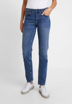 Noisy May - Straight leg jeans - medium blue denim
